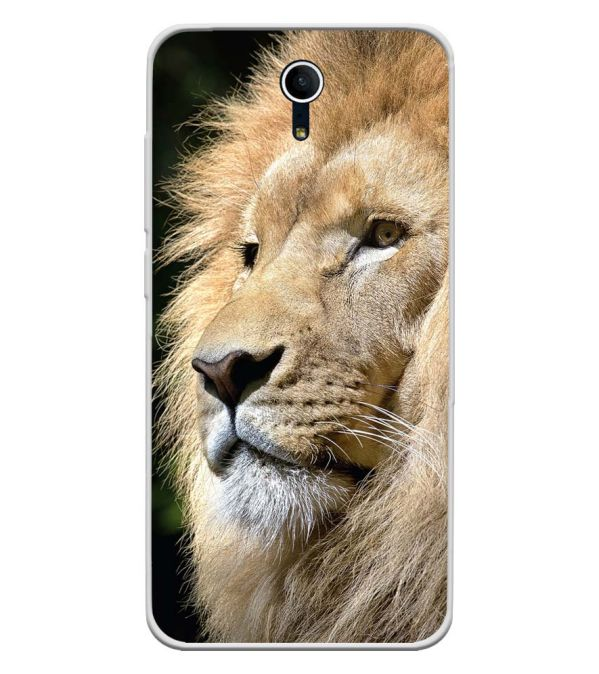 Lion Soft Silicone Back Cover for Swipe Elite Plus