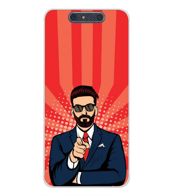 Listen to Beard Back Cover for Micromax Dual 4 E4816-Image3