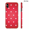 Little Hearts Back Cover for Apple iPhone X
