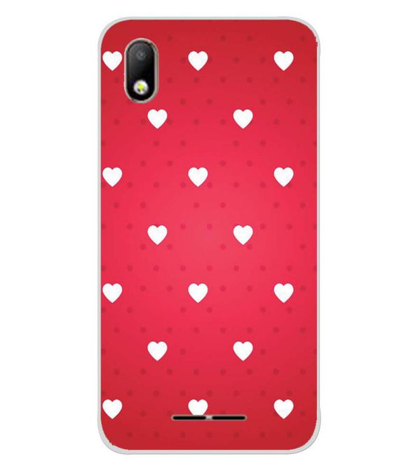 Little Hearts Back Cover for Lava Z40