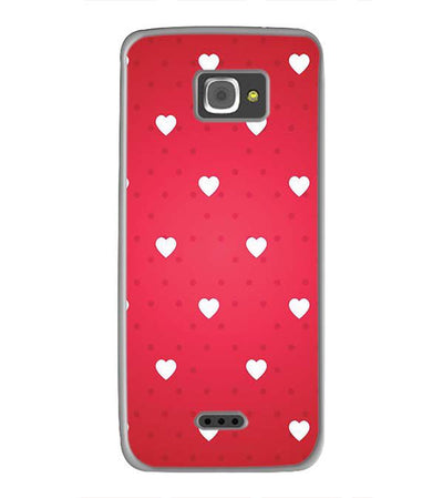 Little Hearts Back Cover for InFocus M350