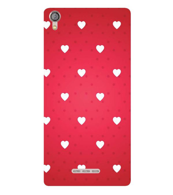 info for c7e7e 33c88 Little Hearts Soft Silicone Back Cover for Lava Z10