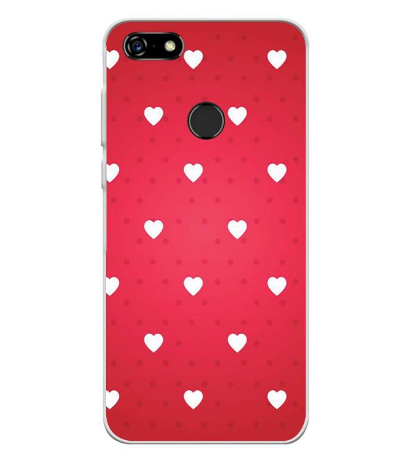 online retailer d7e41 6a023 Little Hearts Soft Silicone Back Cover for Lenovo A5