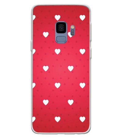 Little Hearts Back Cover for Samsung Galaxy S9