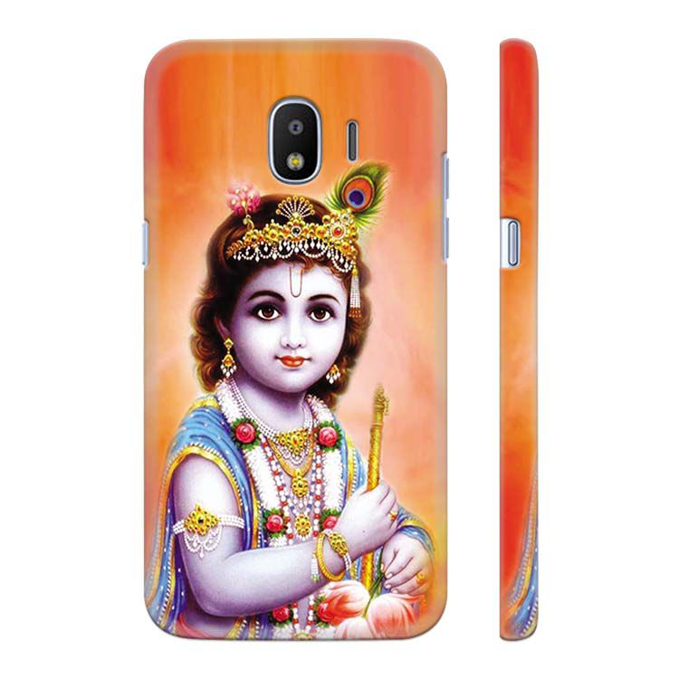Little Krishna Back Cover for Samsung Galaxy J2 (2018)