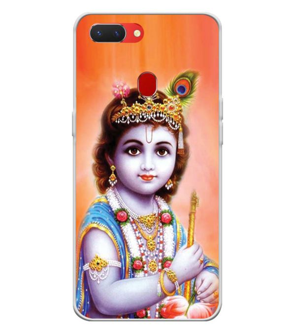 Little Krishna Back Cover for Oppo Realme 2-Image3