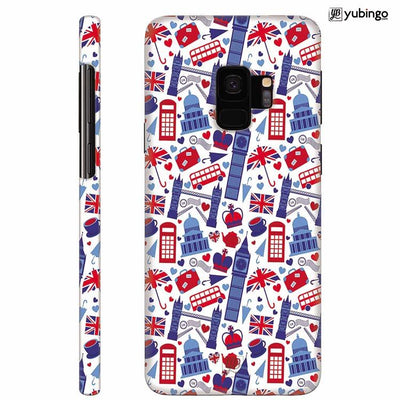 London Back Cover for Samsung Galaxy S9