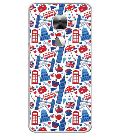 London Back Cover for LeEco Le 2s