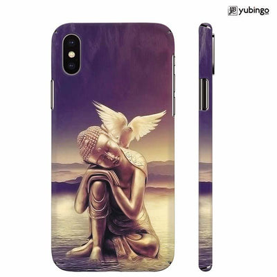 Lord Buddha Back Cover for Apple iPhone X