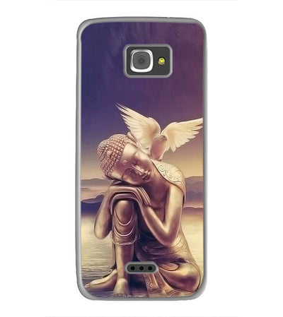 Lord Buddha Back Cover for InFocus M350