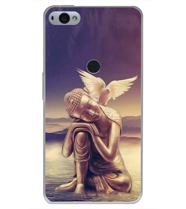 Lord Buddha Back Cover for Smartron SRT Phone