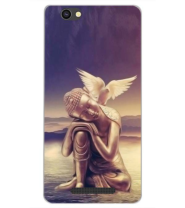 low priced a5add d677d Lord Buddha Back Cover for Xolo Era 4G