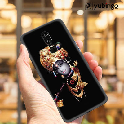 Lord Krishna Back Cover for OnePlus 6-Image2