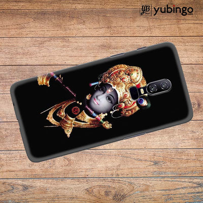 Lord Krishna Back Cover for OnePlus 6-Image3