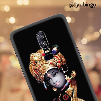 Lord Krishna Back Cover for OnePlus 6-Image4