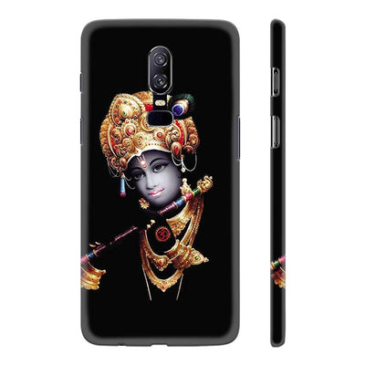 Lord Krishna Back Cover for OnePlus 6