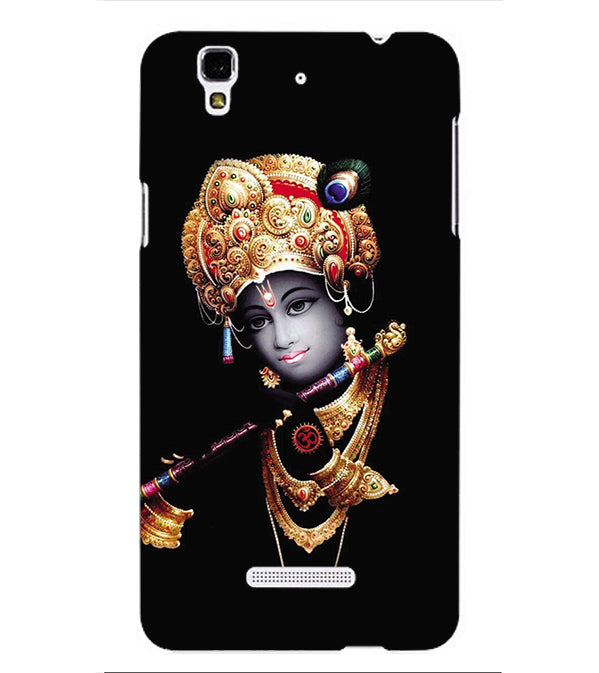 Lord Krishna Back Cover for Yu Yureka Plus