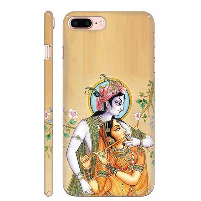Lord Krishna with Radha Back Cover for Apple iPhone 8 Plus