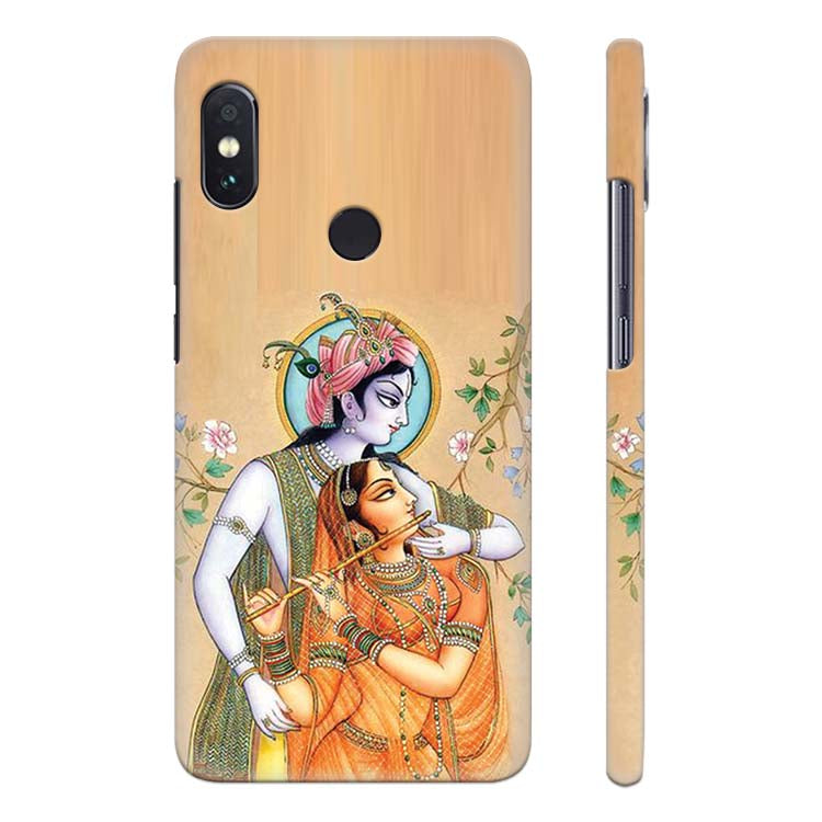 Lord Krishna with Radha Back Cover for Xiaomi Redmi Note 5 Pro