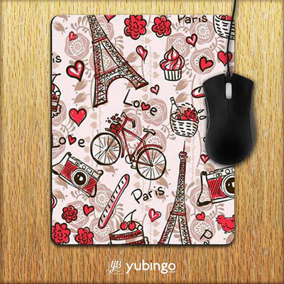 Love In Paris Mouse Pad-Image2