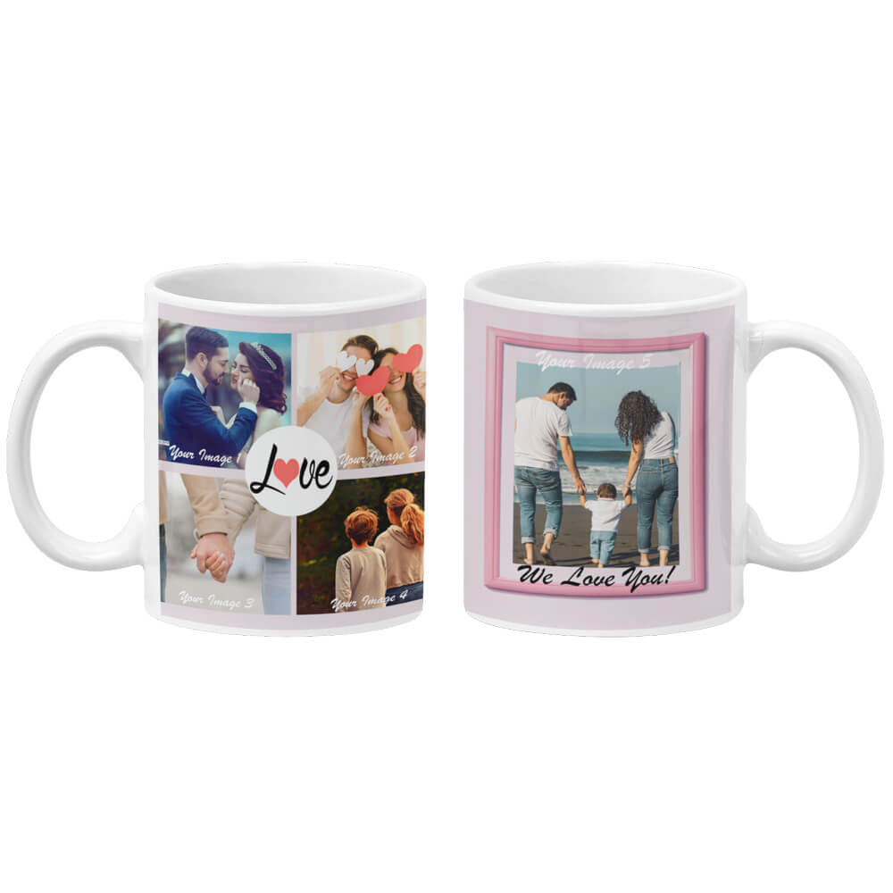 Love Collage Coffee Mug