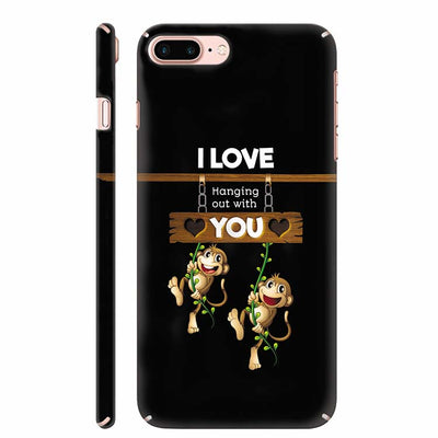 Love Hanging Out Back Cover for Apple iPhone 8 Plus