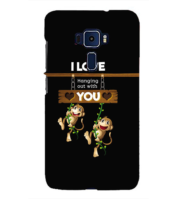 Love Hanging Out Back Cover for Asus Zenfone 3 ZE552KL