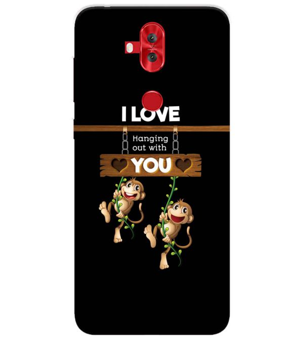 Love Hanging Out Back Cover for Asus Zenfone 5 Lite ZC600KL