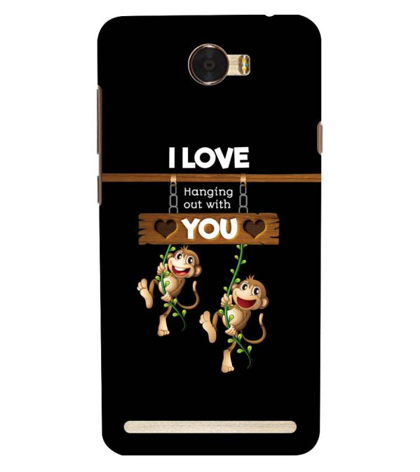 Love Hanging Out Back Cover for Huawei Honor Bee 2 :: Huawei Y3 2
