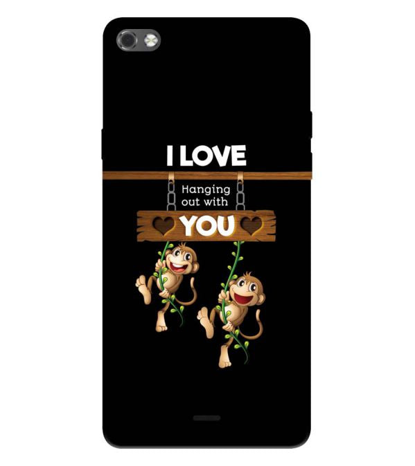 Love Hanging Out Back Cover for Micromax Canvas Sliver 5 Q450
