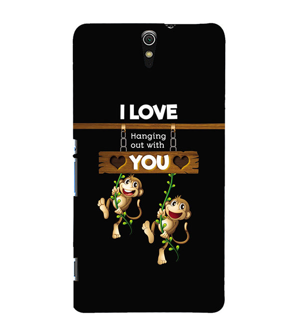 Love Hanging Out Back Cover for Sony Xperia C5