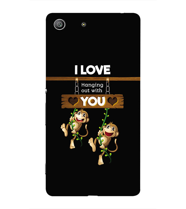 Love Hanging Out Back Cover for Sony Xperia Z3 Compact