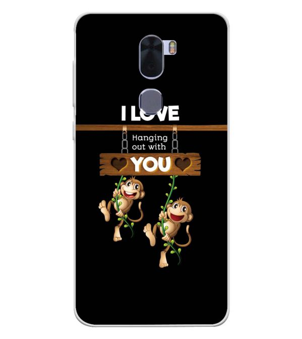 Love Hanging Out Soft Silicone Back Cover for Coolpad Cool 1