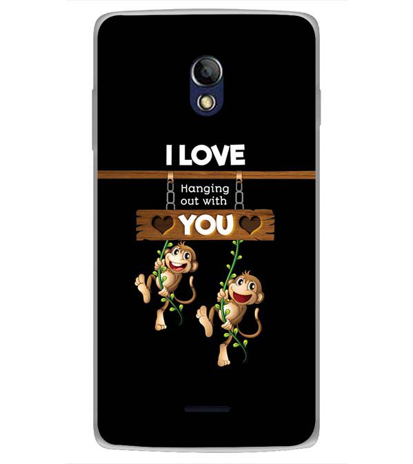 Love Hanging Out Back Cover for Oppo Joy 3 Plus