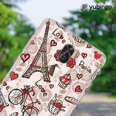 Love In Paris Back Cover for Coolpad Cool 1-Image4