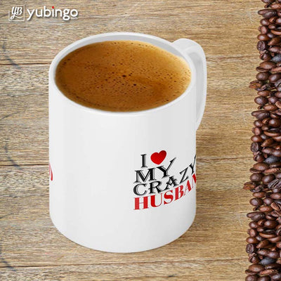 Love My Crazy Husband Coffee Mug-Image4