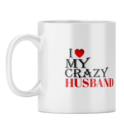 Love My Crazy Husband Coffee Mug