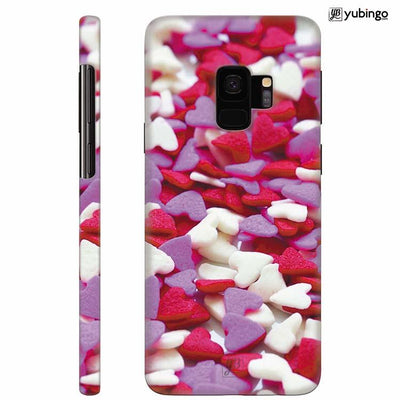 Love Pattern Back Cover for Samsung Galaxy S9
