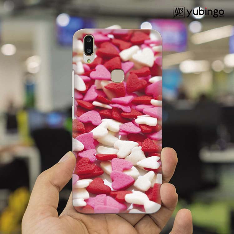 Love Pattern Back Cover for Vivo V9