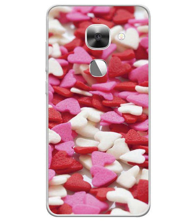 Love Pattern Back Cover for LeEco Le 2s