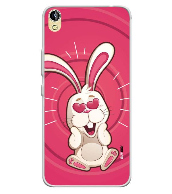 the best attitude 1c558 f4d73 Love Rabbit Soft Silicone Back Cover for Infinix Smart 2