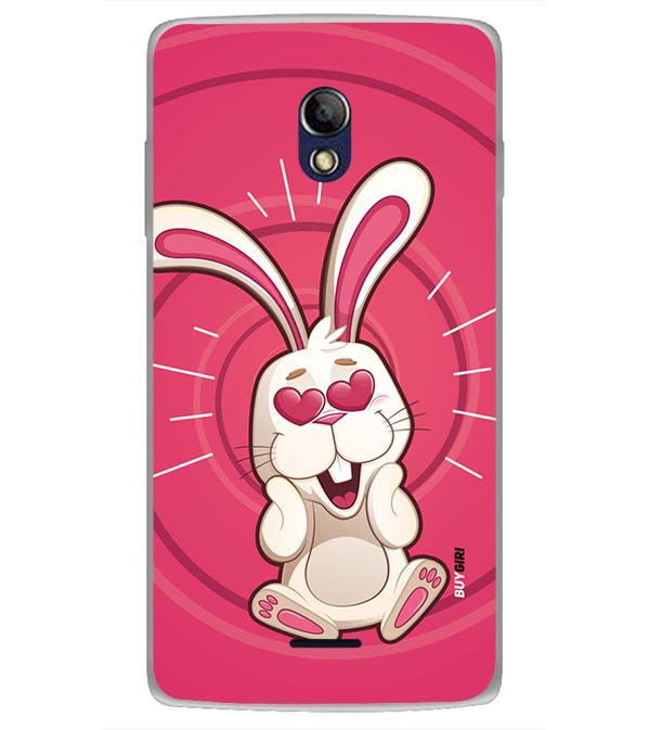 the best attitude 51e54 b6f4e Love Rabbit Back Cover for Oppo Joy 3 Plus