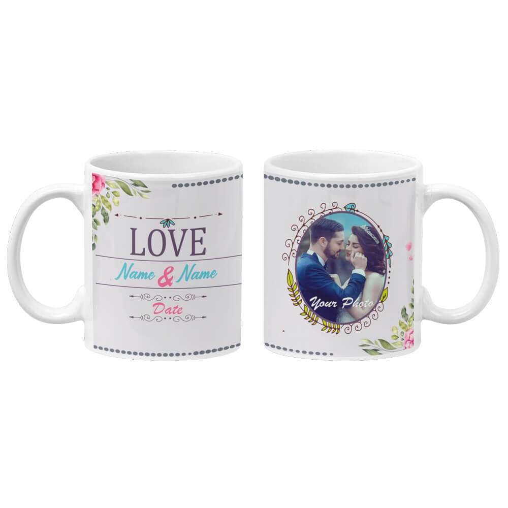 Love with Photo Coffee Mug