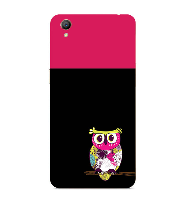 Lovely Owl Back Cover for Oppo A37