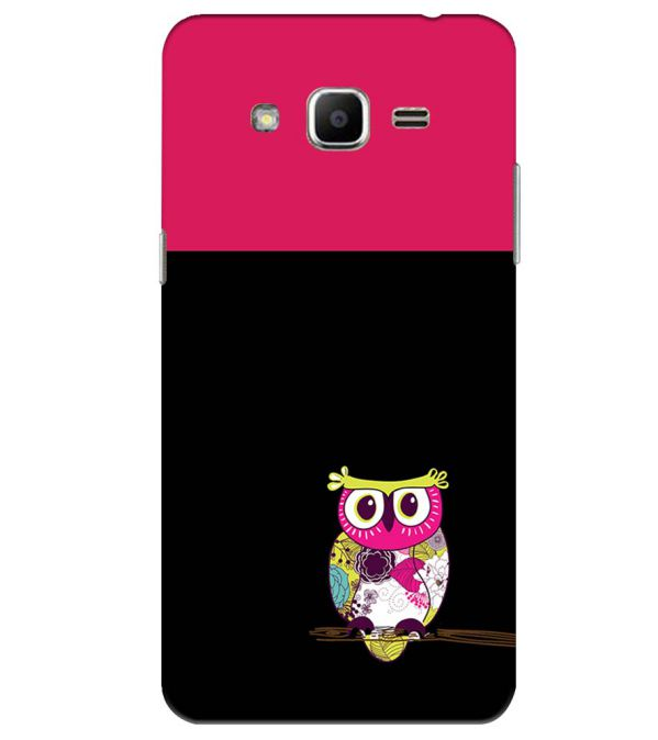 Lovely Owl Back Cover for Samsung Galaxy J2 Ace