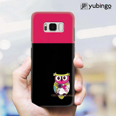 Lovely Owl Back Cover for Samsung Galaxy S8 Plus-Image2