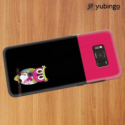 Lovely Owl Back Cover for Samsung Galaxy S8 Plus-Image3