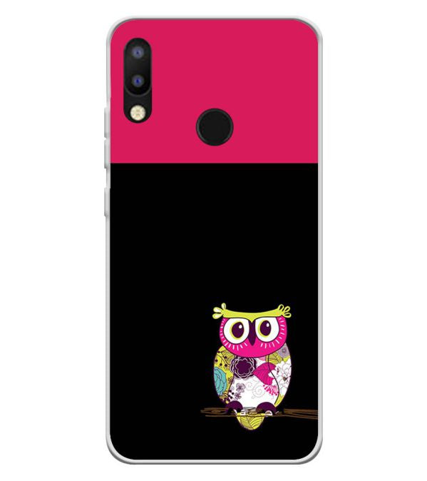 check out 89d7c 48fd4 Lovely Owl Soft Silicone Back Cover for Tecno Camon i2