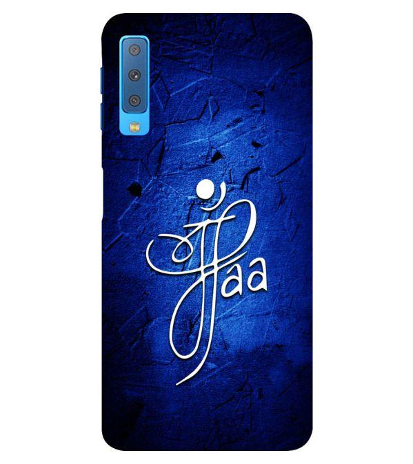 Maa Paa Back Cover for Samsung Galaxy A7 (2018)