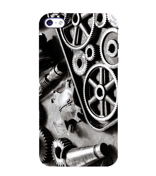 Machinery Back Cover for Apple iPhone 4 : 4S